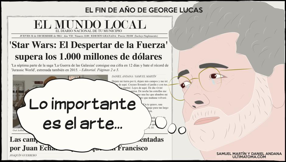 El Fin de Año de George Lucas