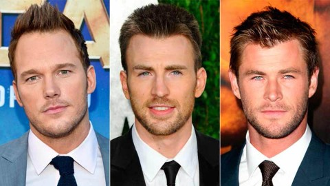 Los Chris de Marvel